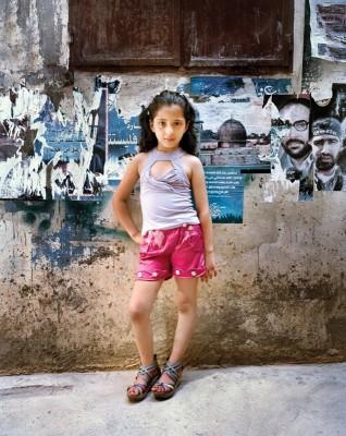 """Dania 9, Bourj El Barajneh Palestinian Refugee Camp, Beirut Lebanon 2011 Serie """"L'Enfant-Femme"""""""