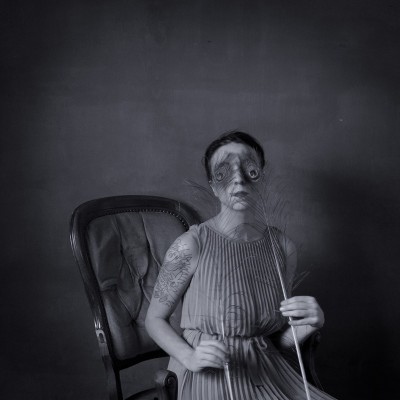 Rayuela/ selfportrait #3, 2013