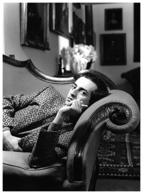 Giovanni Gastel (ritratto da Toni Thorimbert, 1985)